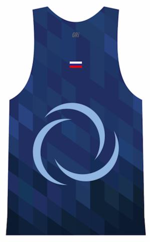 Майка клубная GRi VeterOK, синяя, мужская