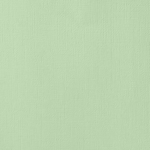 Текстурированный кардсток 30х30 American Crafts Textured Cardstock - Цвет Peapod