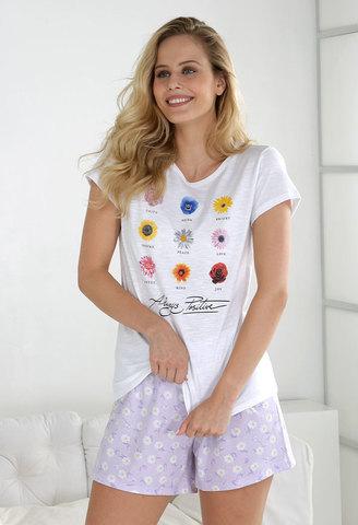 Пижама женская с шортами Massana MP_211239