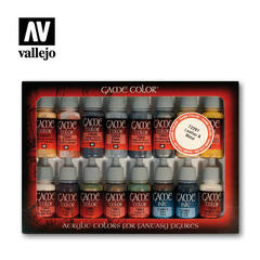 Game Color Set: Leather & Metal (16)