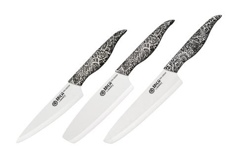 Набор из 3-х ножей Samura INCA SIN-0220W/K