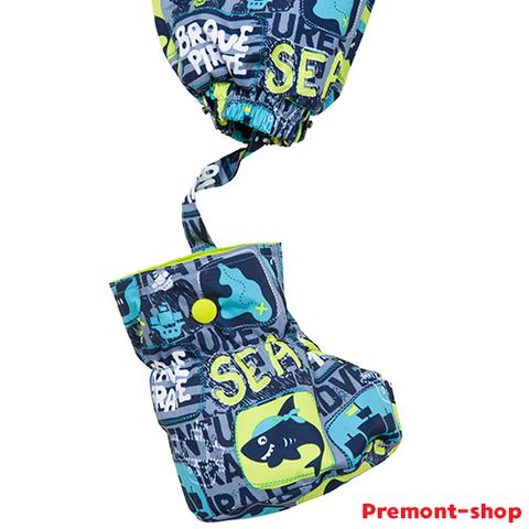 Пинетки комбинезона Premont S18202 Тайны острова Оук для мальчиков