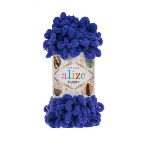 Купить Пряжа Alize Puffy Код цвета 141 Василек | Интернет-магазин пряжи «Пряха»