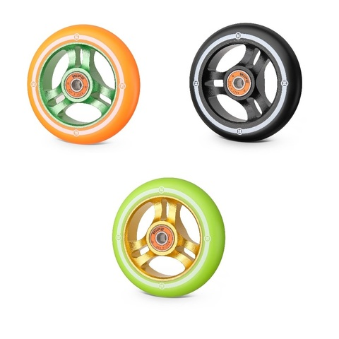 недорогие колеса для трюковых самокатов