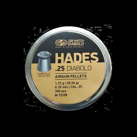 Пульки Hades 6,35 мм (1,72 г, 300 шт.)