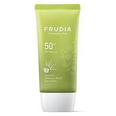Frudia Крем солнцезащитный с авокадо - Avocado greenery relief sun cream Spf50+Pa++++, 50г