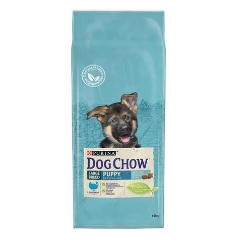 PURINA DOG CHOW Сухой корм для щенков крупных пород с индейкой Puppy Large Breed Turkey