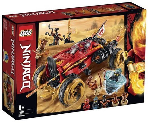 Lego konstruktor Ninjago Katana 4x4