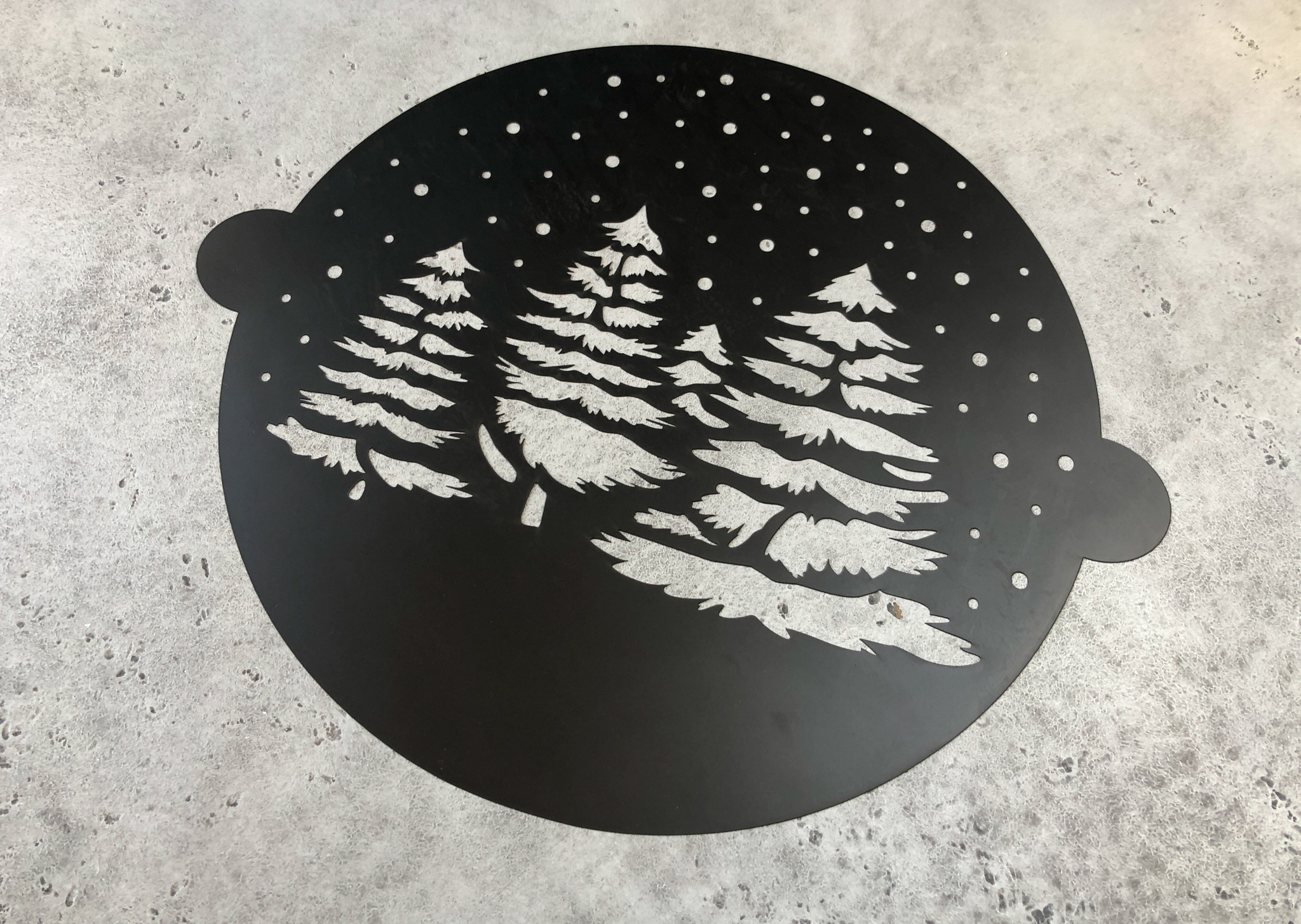 Трафарет «Ёлочки», 30х35 см