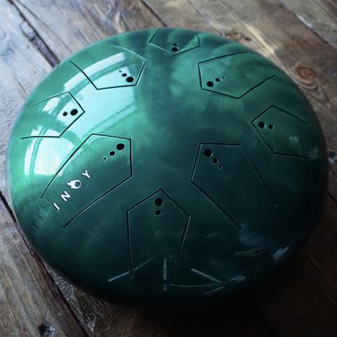 Глюкофон Inoy Зелёный лак Двусторонний Ø30cm