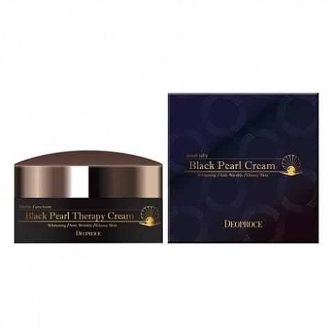 DEOPROCE CREAM Крем для лица с черным жемчугом антивозрастной DEOPROCE BLACK PEARL THERAPY CREAM 100гр