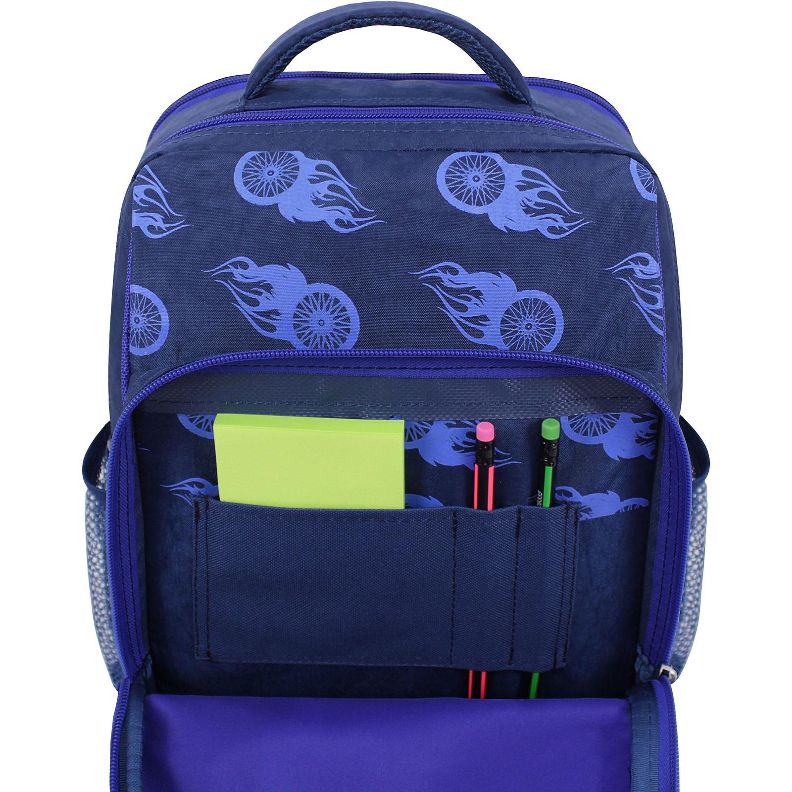 Рюкзак школьный Bagland Школьник 8 л. 225 синий 507 (00112702) фото 4