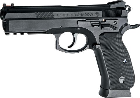 Страйкбольный пистолет CZ SP-01 SHADOW, пружинный (Артикул 17655)