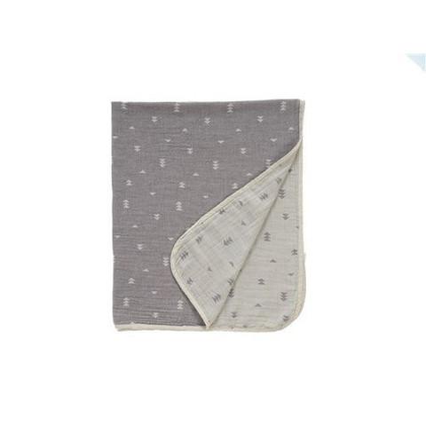 Детский плед Buldan  Ivy (серый) 85x100