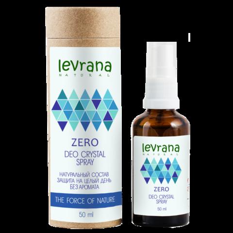 Дезодорант LEVRANA ZERO, без аромата, 50 мл.