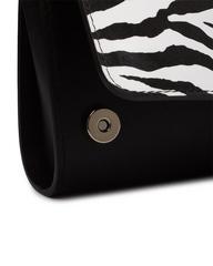 ODRI MINI с принтом зебры черного цвета