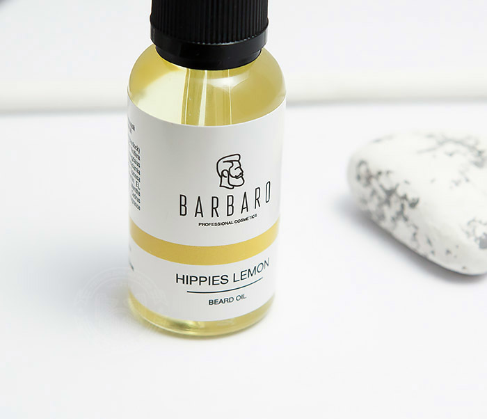 RAZ1040 Масло для бороды Barbaro «Hippies lemon», 30 мл фото 06