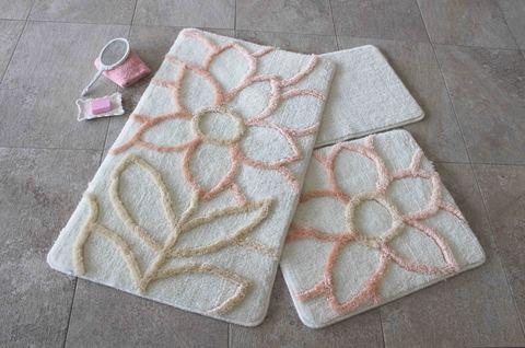 Комплект ковриков для ванной и туалета NATUREL