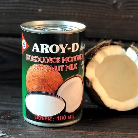 Фотография Кокосовое молоко Aroy-D 60% мякоти / 400 мл купить в магазине Афлора