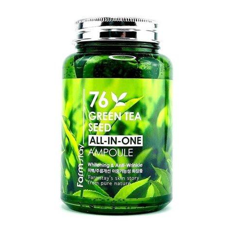 FARMSTAY 76 Green Tea Seed All-In-One Ampoule