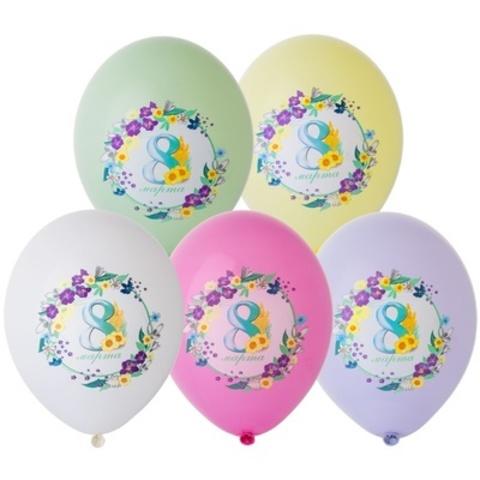 Воздушные шары 8 марта Нежность