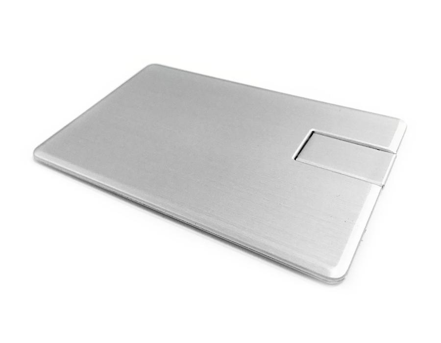 usb-флешка визитка металлическая оптом