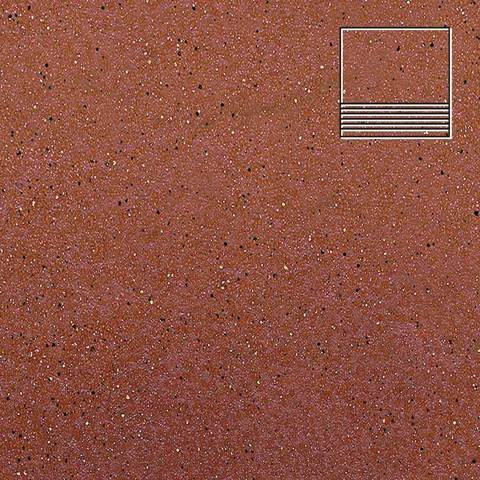 Ceramika Paradyz - Taurus Rosa, 300x300x11, артикул 5275 - Ступень простая структурная