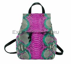 Рюкзак из кожи питона BG-286