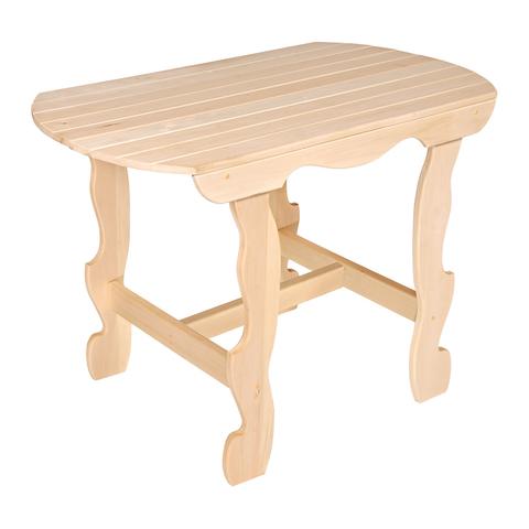 Стол с фигурными ножками разборный 100х63х73 см