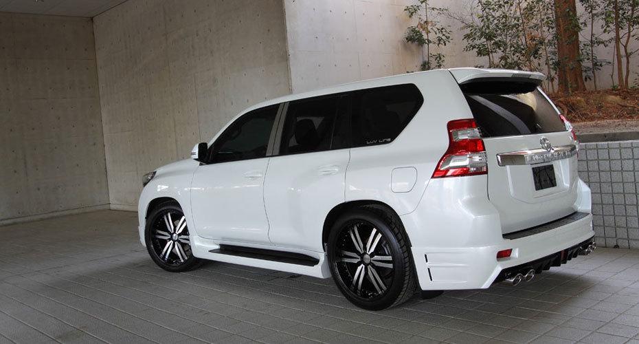 Обвес MzSpeed Luv Line для Toyota Land Cruiser Prado 150 Копия