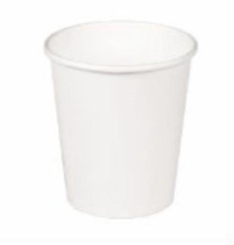 Стакан одноразовый 200/260мл белый SP9 1 сл.гор.напитков