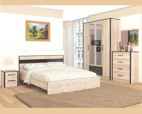 Спальня модульная ЛИРИКА-4