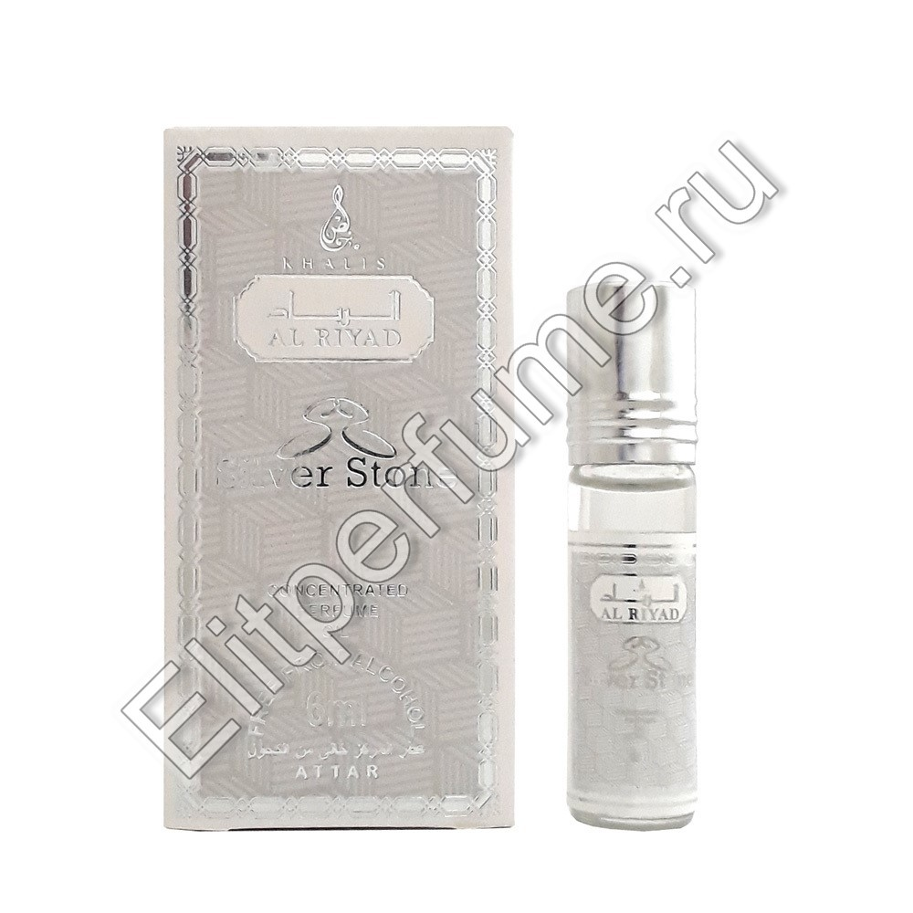 Silver Stone 6 мл арабские масляные духи от Халис Khalis Perfumes
