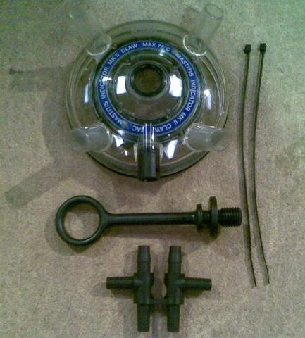 21200206 Верхняя часть коллектора (для UNIFLOW3M нерж., мастит, MK2)