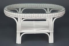 Стол из комплекта для отдыха Андреа (ANDREA) - белый матовый