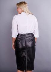 Сусана. Оригінальна блуза плюс сайз. Білий.