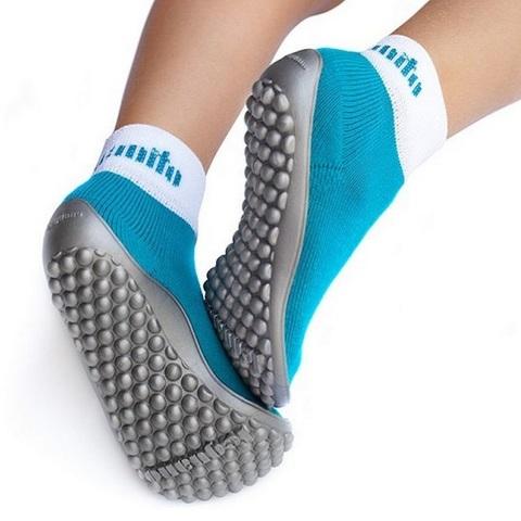 Leguano (emerald) - детская обувь для ходьбы босиком
