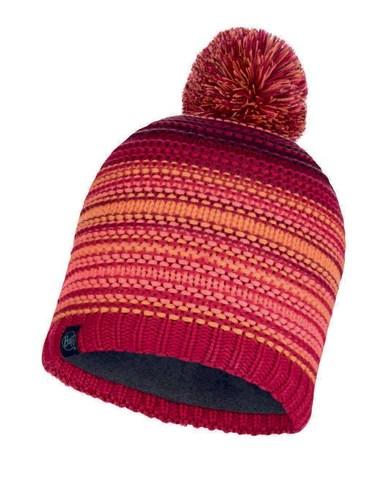 Шапка вязаная с флисом Buff Hat Knitted Polar Neper Bright Pink фото 1