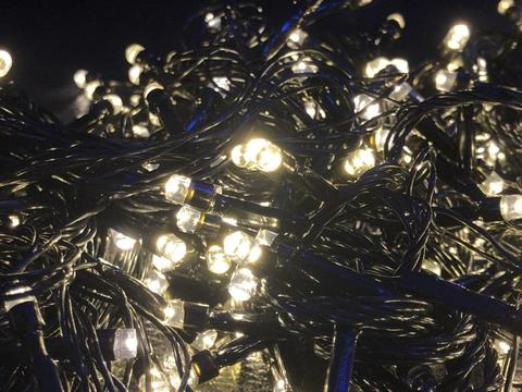 Сітка-гірлянда 120 LED B NET 1.2 на 1.2 м. тепло-біла