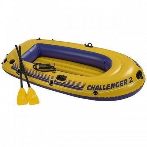 Лодка надувная двухместная Intex Chalenger 68367NP