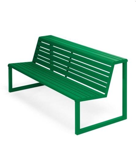 Bench Backrest Double .h24