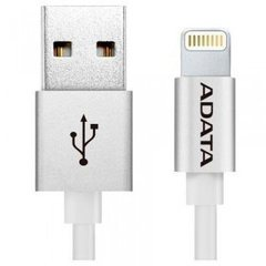 Кабель ADATA Lightning-USB для iPhone, iPad, iPod (сертифицирован Apple) 1м