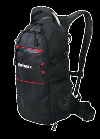 Рюкзак Wenger (13022215) Narrow Hiking Pack, чёрный, 23х18х47 см, 22 л