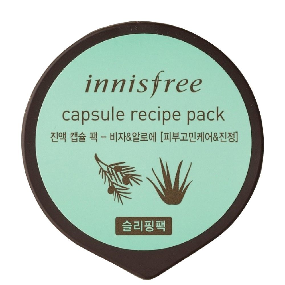 Увлажняющие Маска для лица INNISFREE ИНС капсульная INNISFREE CAPSULE RECIPE PACK_BIJA&ALOE 10 мл innisfree-capsule-recipe-pack-visa_aloe-1000x1000.jpg
