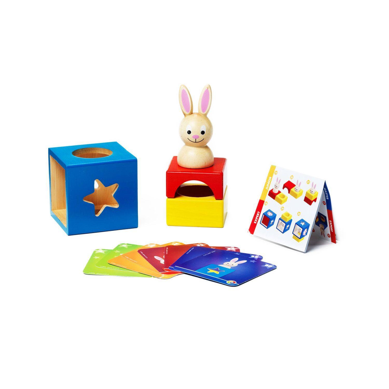 Застенчивый Кролик - логическая игра BONDIBON SMARTGAMES