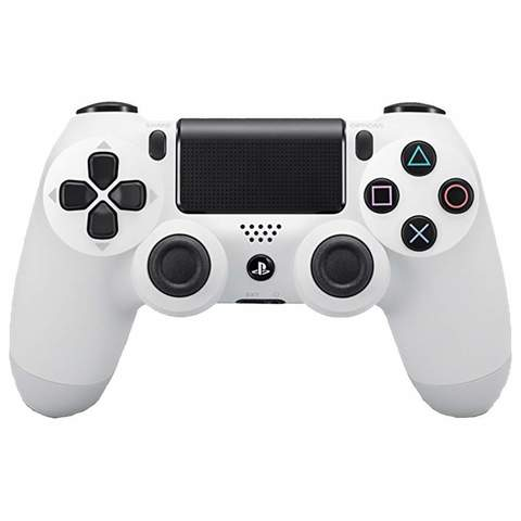 Беспроводной геймпад Dualshock 4 V2 белый для PlayStation 4 в Sony Centre
