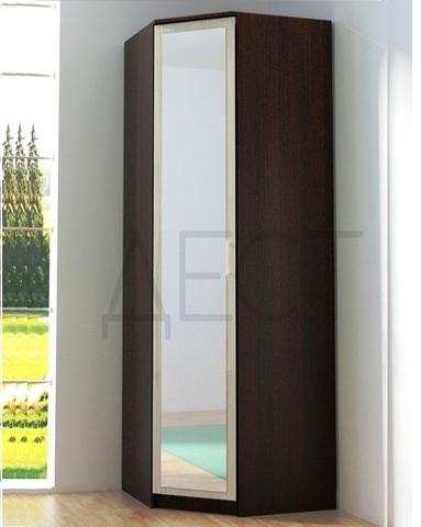 Шкаф угловой ВЕНА с зеркалом левый /763*2100*763/