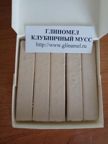 Глиномел Клубничный мусс (Россия)
