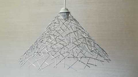 Светильник интерьерный Конус 40х23 см.