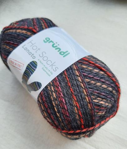 Gruendl Hot Socks Lonato купить пряжу